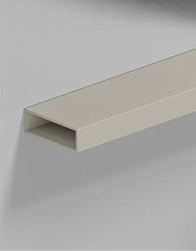 Profilo in alluminio da 60 x 20 mm