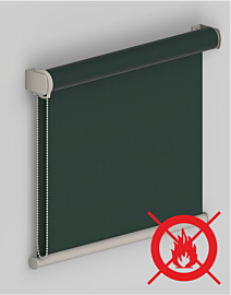 Tenda A Rullo con Tessuto in PVC Oscurante Antifiamma