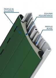 Duero 55 ® - Avvolgibile in Alluminio e PVC con Poliuretano Alta Densita