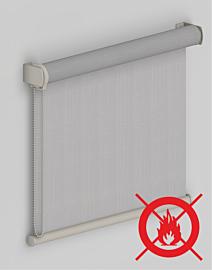 Tenda a Rullo con Tessuto Filtrante Effetto Shantung Antifiamma