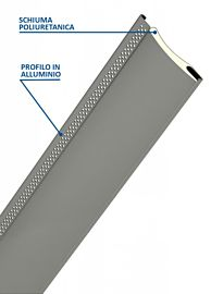 Zanzartap ® - Avvolgibile in Alluminio Coibendato con Poliuretano Media Densità Con Zanzariera