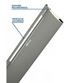 Arialuce ® - Avvolgibile a Foro Largo in Alluminio Coibendato con Poliuretano Media Densità