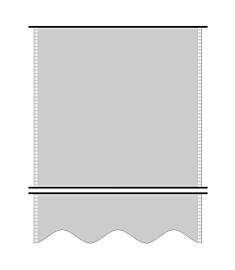 Telo Confezionato in PVC da 400 Gr/Mq