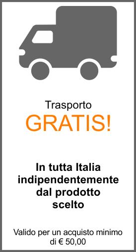 Banner Trasporto Gratis