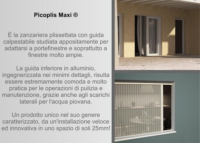 Zanzariera Picoplis Maxi